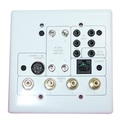 Elan PVIA-4 4-Zone VIA Wallplate