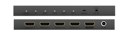 HD Anywhere has made a 4K HDMI splitter. The 1 x 4 HDMI Splitter MAX lets you split 1 source into 4 HDMI outputs. 1x4 splitter buy online or at The Listening Post Christchurch and Wellington.