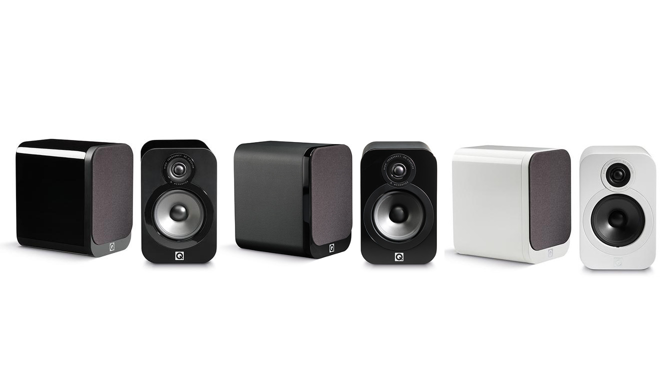 Q Acoustics Q3020 Bookshelf Speakers Premium Finish
