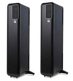 Q Acoustics Q Active 400 Powered floorstanding Speakers are Q Acoustics´s first active speakers. With modern streaming functionality. Buy the Active 400 compact speakers at The Listening Post Christchurch and Wellington.