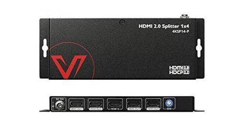 AV Access 4K SP14-P 1x4 HDMI Splitter lets you mirror a UDH 4k hdmi signal. Available online or at The Listening Post Christchurch and Wellington.