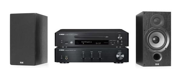 Yamaha & ELAC Stereo CD Package lets you delve into the world of hifi with a good CDNT 670 Cd player and A670 Amp with elac debut speakers. Available at The Listening Post Christchurch and Wellington.