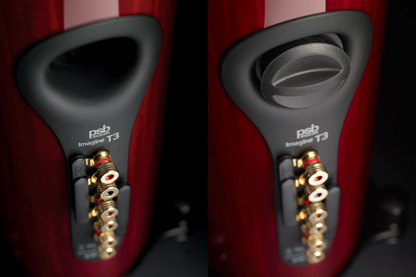 PSB Imagine T3 Speaker Rear in Cherry