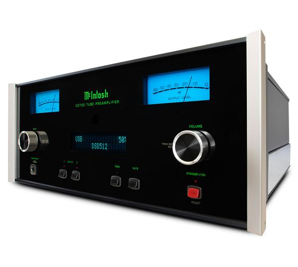 The C2700 is a state of the art vacuum tube preamp from Mcintosh. The C-2700 stereo preamplifier will make any pair of speakers sounds acoustically perfect. The C 2700 is available online or at The Listening Post