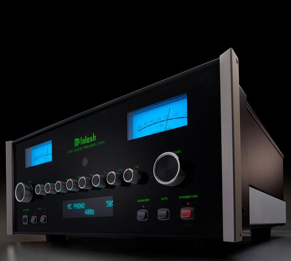 The C53 preamplifier from McIntosh features an upgradable DA2 digital audio module. Try the C-53 stereo preamp knowing it can keep up with modern connectivity. Available online or at The Listening Post Christchurch and Wellington.