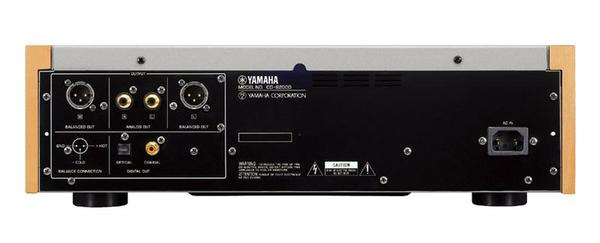 Yamaha CD-S2000 CD Player Rear Panel showing the connections