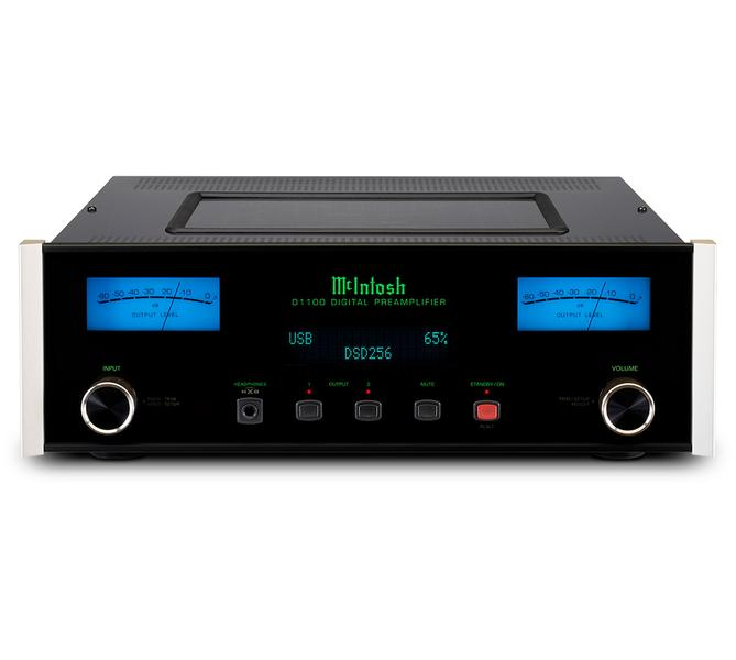 McIntosh D1100 Reference Stereo Preamplifier provides levels of detail that you will not have heard before. See how good the D-1100 preamp is. Buy this amplifier online or At the Listening Post Christchurch and Wellington