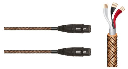 Balanced cables offer less interference and noise over a longer run. The 3 pin XLR means that you get a nicer sound with your equipment. Buy the Wireworld Micro Eclipse Balanced digital audio cable online or at The Listening Post Christchurch and Wellington.