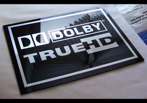 Dolby TrueHD Logo at The Listening Post Christchurch