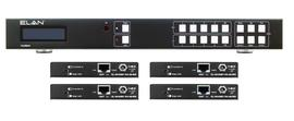 ELAN EL-4KM-V44-KIT 4×4 HDBaseT Matrix offers great performance at an amazing value for custom installation. The 4km-V44 matrix kit is Available online or at The Listening Post.