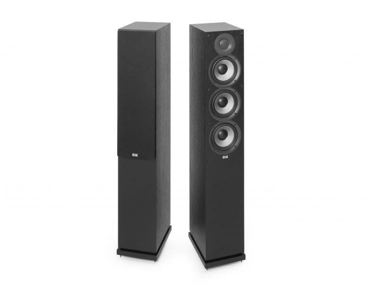 The new ELAC Debut F5.2 Floorstanding Speakers. Part of the new Debut 2.0 range, these floorstanders pack 140W of power. The FS 5.2 speakers are available online or at The Listening Post Christchurch and Wellington, NZ.