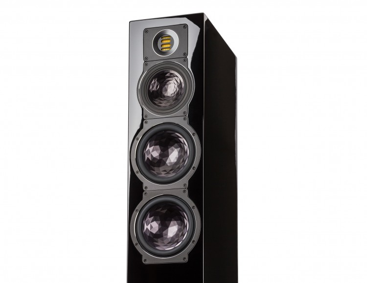 ELAC FS 409 Floorstanding Speakers Black Drivers