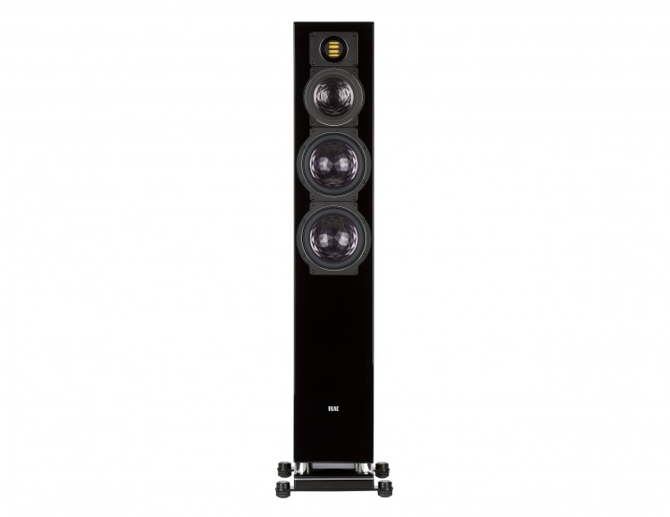ELAC FS 409 Floorstanding Speakers Black Front