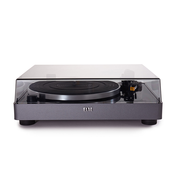 ELAC Miracord  50 turntable delivers amzing vinyl transcription. The belt drive Miracord50 record player come swith its own phono preamplifier