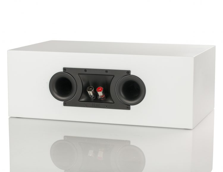 ELAC Uni Fi Slim CC U5 Centre Speaker rear