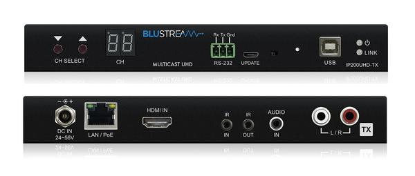 Blustream IP200UHD-TX is a 4K UHD HDMI transmitter, Bi-directional IR and RS-232 up to lengths of 100m over a single CAT cable. The IP200 is available online or at The Listening Post Christchurch and Wellington.