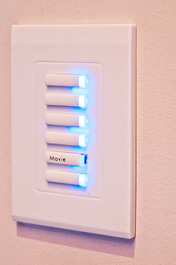 HAL Lighting Control Package - Keypad Control
