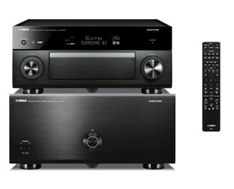 Yamaha Aventage CX-A5200 AV Preamplifier & MX-A5000 Power Amplifier Home Theatre Package with MusicCast. CXA MXA 5200 AMP 11.2 Available online at The Listening Post Christchurch and Wellington.