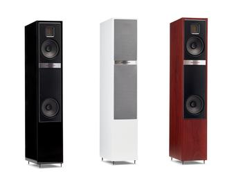 Martin Logan Motion 20 is a floorstanding speaker featuring a Folded Motion XT tweeter, and dual 5.5-inch aluminum cone woofers with rear-firing bass ports. Available online and at The Listening Post Christchurch and Wellington.