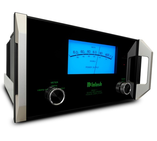 McIntosh MC611 Power Amplifier Low Angle | The Listening Post Christchurch & Wellington | TLPCHC TLPWLG