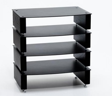 Custom Design Milan Inert Hifi 4 Shelf Support Rack