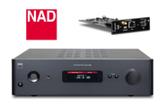 Now you can make the most of your NAD C388 Integrated Amplifier with the BluOS 2i to enable high resolution audio streaming and wired and Wi-Fi options. Available online at The Listening Post Christchurch and Wellington.