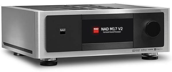 The M17 V2 carries on the enviable task of representing NAD's finest surround sound performance. Available at The Listening Post Christchurch and Wellington.