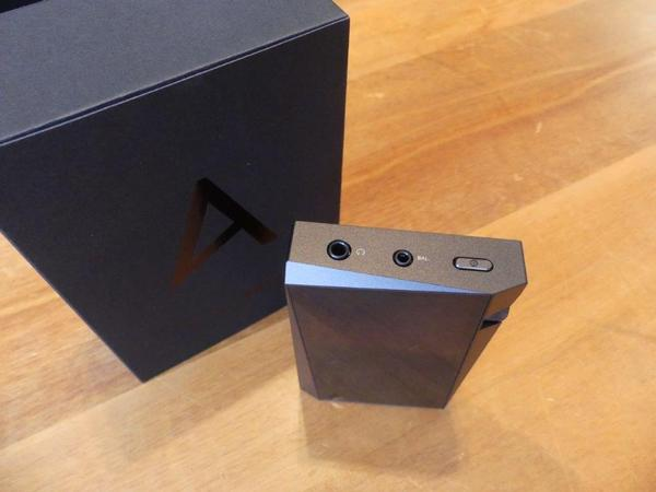 Astell & Kern´s A&norma SR15 Top View