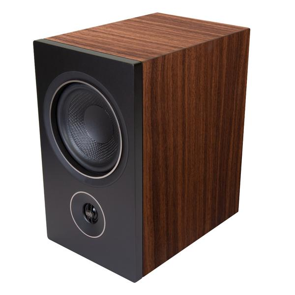 PSB Alpha P5 Side View in Walnut