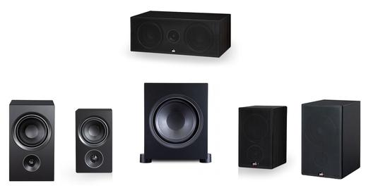 PSB Alpha Series 5.1 Package 2 gives you the Alpha C, P3 and P5 speakers with the Sub8 subwoofer. This 5 speaker package starts your home theatre surround sound journey. Available online at The Listening Post, NZ.