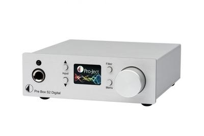 The Pre Box S2 is a compact preamplifier from Pro-Ject that uses a dual SABRE DAC setup. Try out this awesome PreBox Preamp. Available online or at The Listening Post Christchurch and Wellington, NZ.