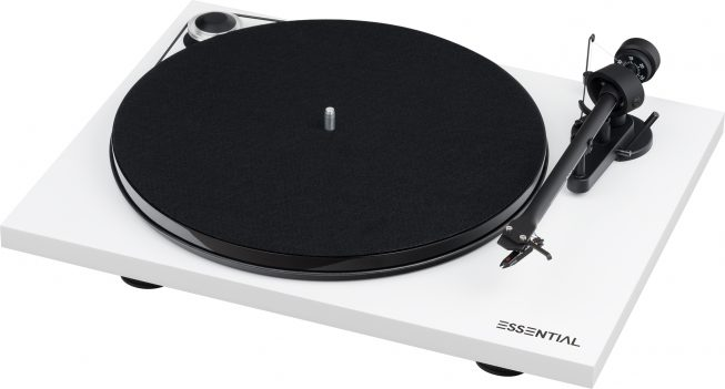 Project Essential III Turntable white | The Listening Post | TLPCHC TLPWLG
