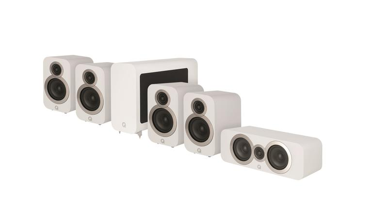 Q Acoustic 3010i Package white