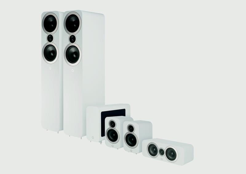 Q Acoustic 3050i Package white