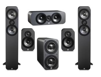 Q Acoutics AV is World renowned. The 3000 series are a staple in Q Acoustics range and its 5.1 Home Theatre pack is perfect for every occasion. This 3000 series 5.1 Home Theatre Pack is world renowned in the AV industry.