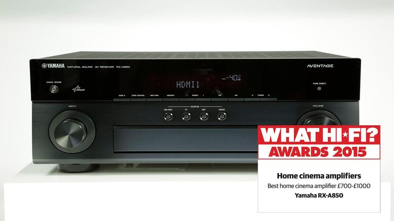 Yamaha RX-A850 What Hifi Review