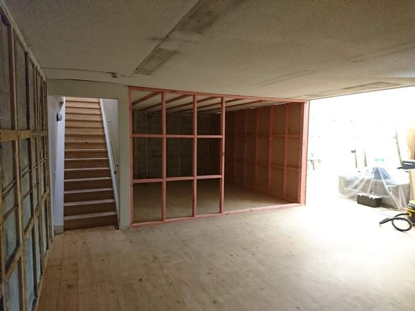 Renovations Towards Upstairs
