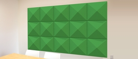 Autex Quietspace 3D Acoustic Pyramid Wall Tile