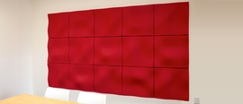 Autex Quietspace 3D Acoustic Wave Wall Tile