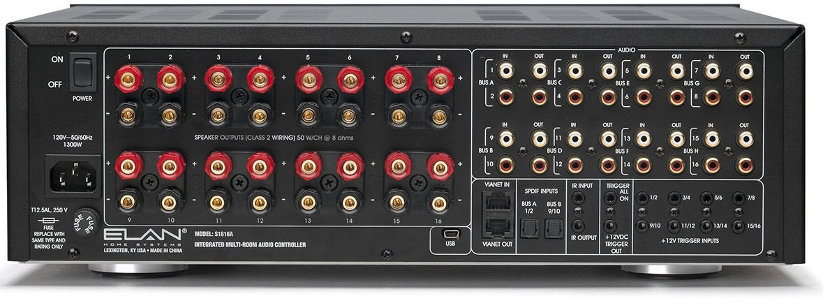 Elan S1616A 8-16 Zone Controller/Amplifier