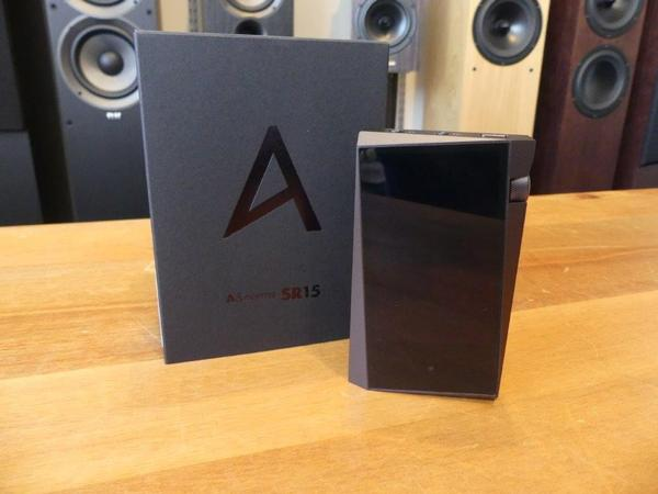 Astell & Kern´s A&norma SR15 with box