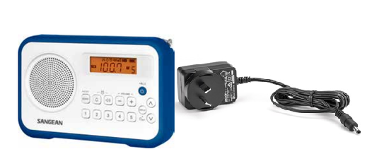 Sangean PR-D18 Portable Radio | The Listening Post | TLPCHC TLPWLG