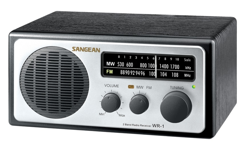 sangean wr 1 am fm table top radio the listening post christchurch and wellington. Black Bedroom Furniture Sets. Home Design Ideas