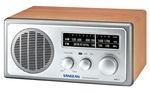 Sangean WR-1 AM / FM Radio in Walnut