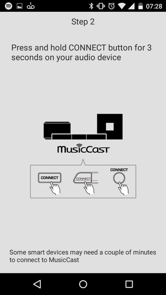 Yamaha MusicCast App Connect Instructions