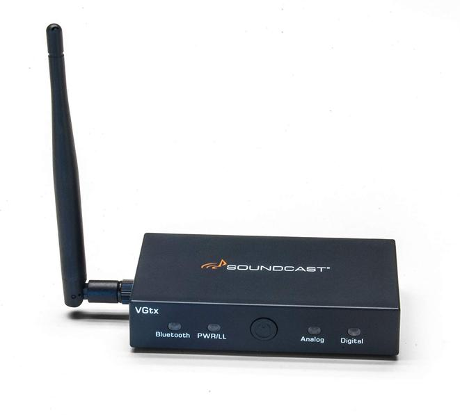 Soundcast VGtx Bluetooth Streamer | The Listening Post | TLPCHC TLPWLG