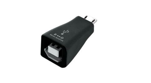 This adapter from Audioquest lets you connect your USB B devices to any android micro usb port. Buy this USB-B Adaptor online or at the Listening Post, Christchurch and wellington. TLPCHC TLPWLG
