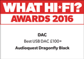 What Hi-Fi: Best USB DAC under £100