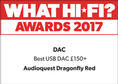 What Hi-Fi: Best USB DAC £150+