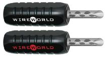 Wire World Silver Crimp-on Banana Plugs